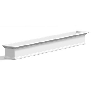 Yorkshire 8FT Window Box Planter - White