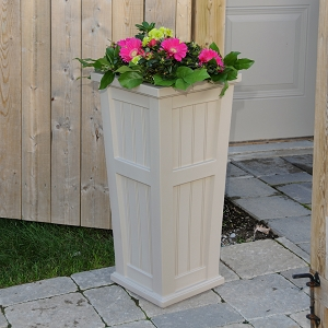 Cape Cod Tall Planter 16
