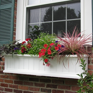 Cape Cod 4FT Window Box Planter