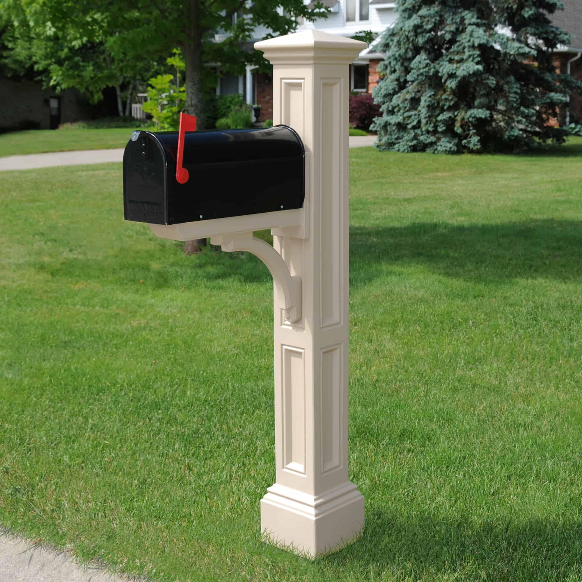 Charleston Mailbox Post Usa Exterior