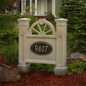 Winchester Address Sign