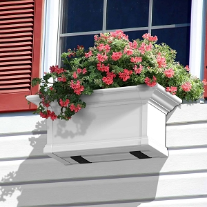 Yorkshire 2FT Window Box Planter - White