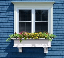 Yorkshire 4FT Window Box Planter - White