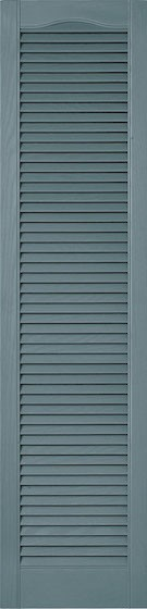 Mid America Full Open Louver Cathedral Top